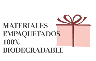 Materiales empaquetados 100% biodegradable - market place