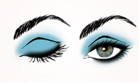 Learn how to use color, not just black, to create a smoky eye.