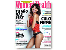 Mary Kay saliendo en la revista Womens Health