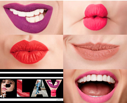 Lápiz de Labios Líquido Mate Mary Kay At Play en los tonos Vivid Violet, Pink Shock, Neon Nectarine, Taupe That y Pink it Over