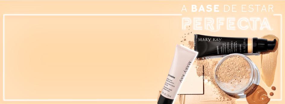 8c928de5a Descubre las bases de maquillaje Mary Kay: fluidas, en polvo, con más o