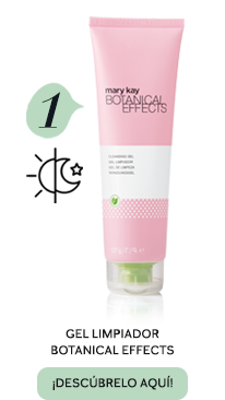 Rutina en cuatro productos con Botanical Effects - Paso 1, Gel Limpiador Botanical Effects