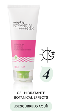 Rutina en cuatro productos con Botanical Effects - Paso 4, Gel Hidratante Botanical Effects